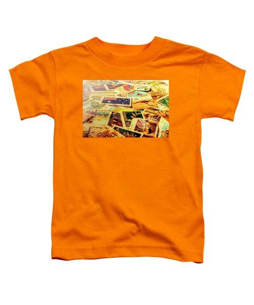 Australian Postal Background Toddler T-Shirt