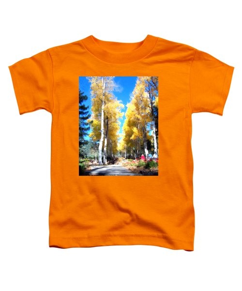 Autumn Aspens Toddler T-Shirt
