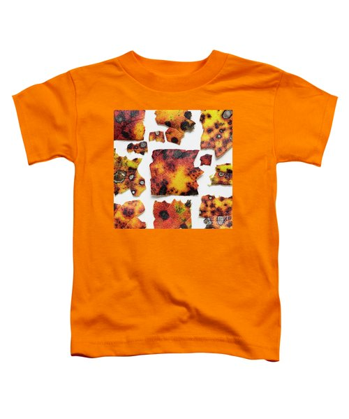 Autumn Color Leaves Toddler T-Shirt
