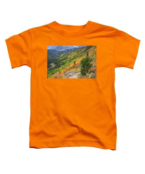 Autumn On Bierstadt Trail Toddler T-Shirt