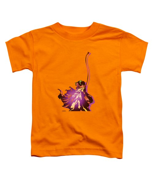 Autumn Sycamore Leaf Toddler T-Shirt