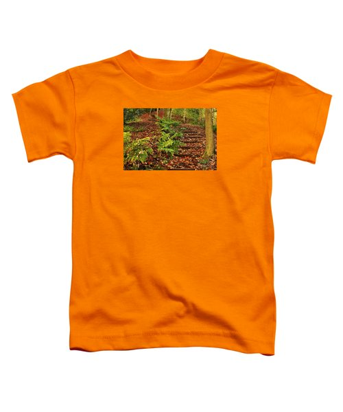 Autumn Woodland Path Toddler T-Shirt