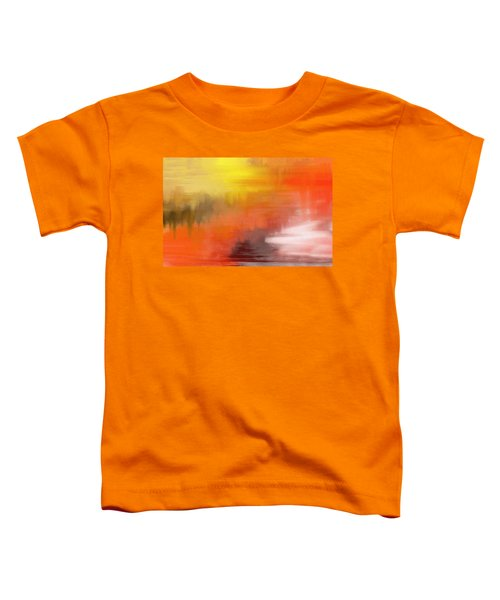 Autumnal Abstract  Toddler T-Shirt
