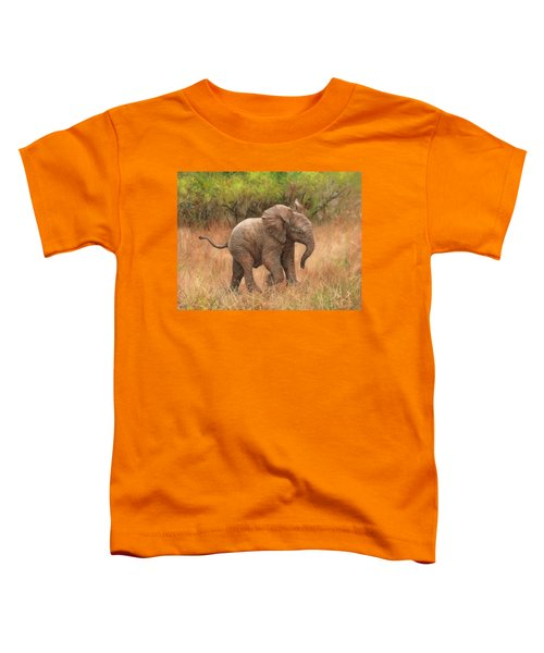 Baby African Elelphant Toddler T-Shirt