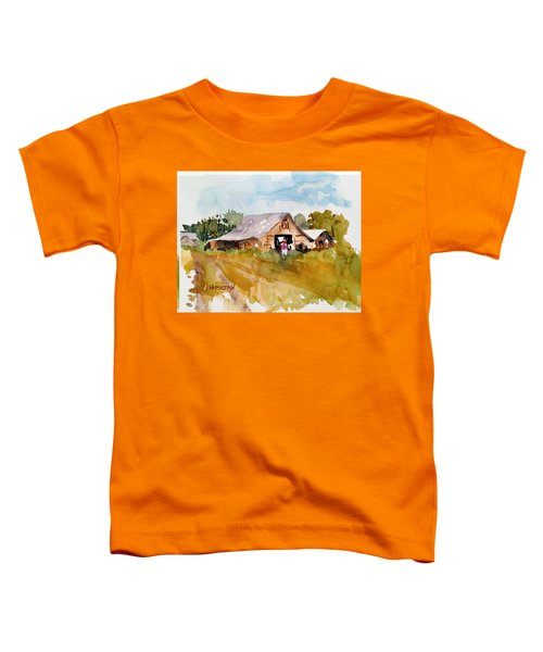 Barn # 2 Toddler T-Shirt
