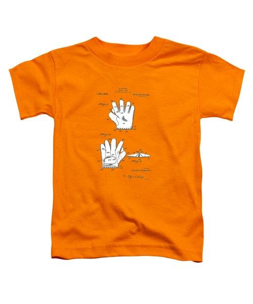 Baseball Glove 1921 Patent Toddler T-Shirt