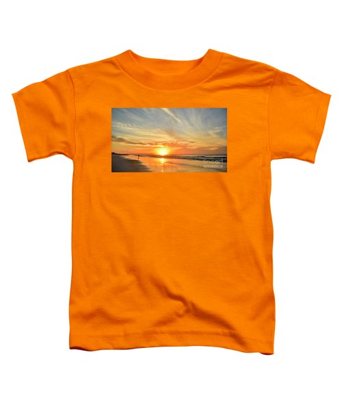 Beach Of Gold Toddler T-Shirt