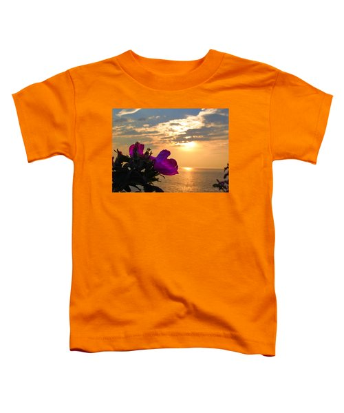 Beach Roses Toddler T-Shirt