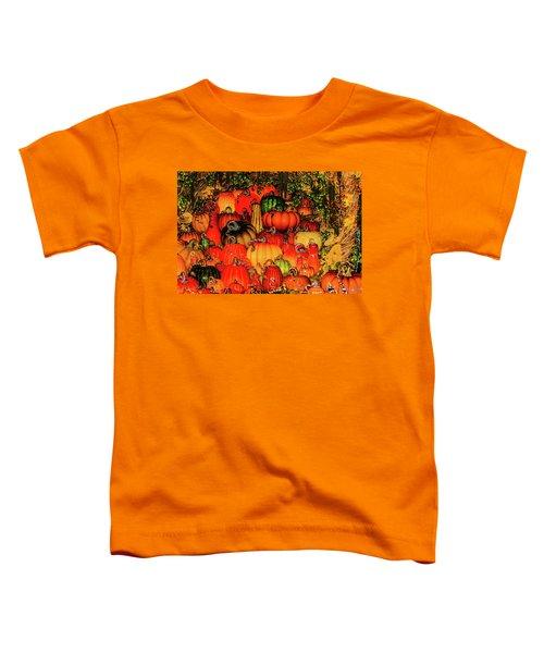 Beautiful Glass Pumpkins Toddler T-Shirt