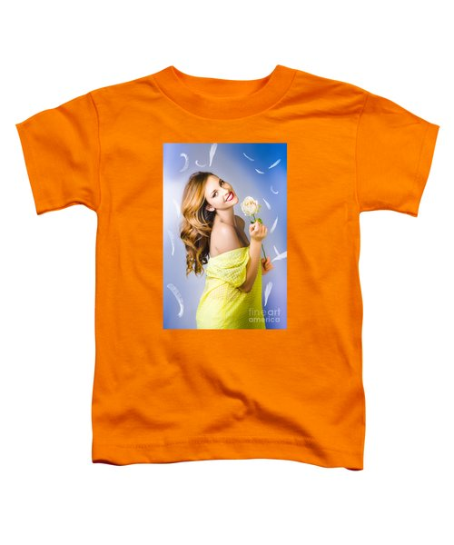 Beauty Of Romance Floating In The Summer Breeze Toddler T-Shirt