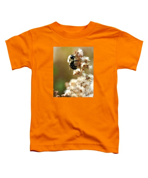 Bee On Goldenrod Toddler T-Shirt