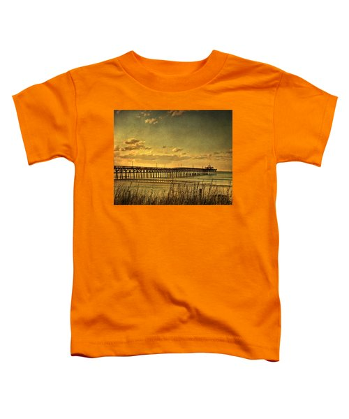 Behind Cherry Grove Pier  Toddler T-Shirt