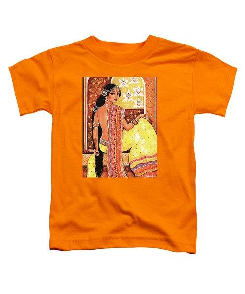 Bharat Toddler T-Shirt by Eva Campbell
