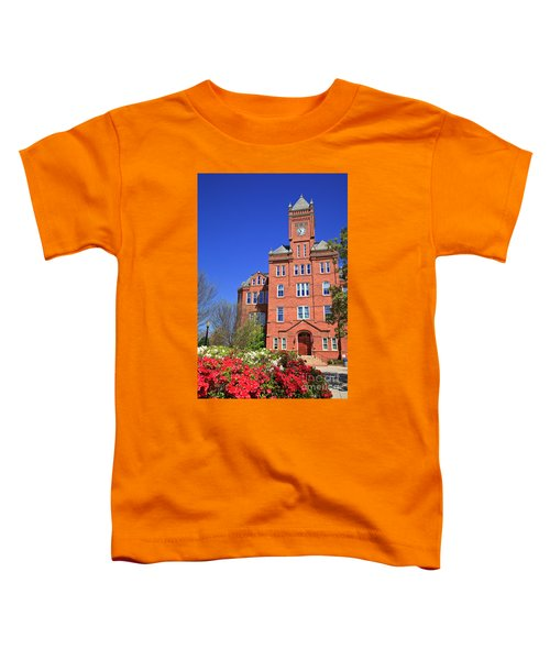 Biddle Hall In The Spring Toddler T-Shirt