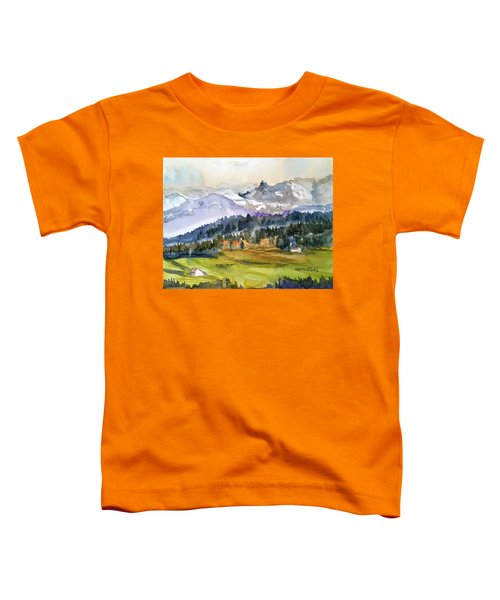 Big Mountain Sunset Toddler T-Shirt