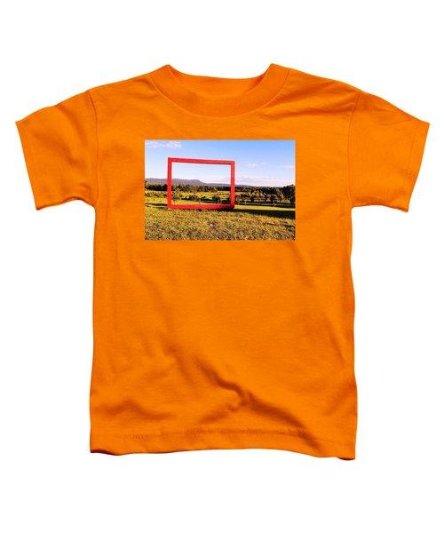 Big Red Frame Easthampton Toddler T-Shirt