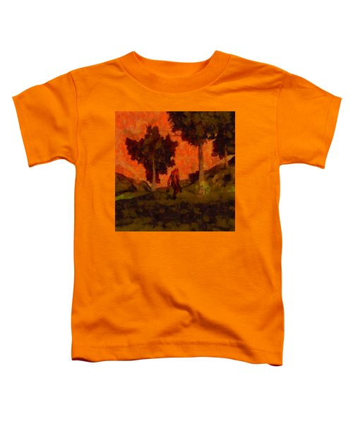 Bigfoot Wandering Toddler T-Shirt