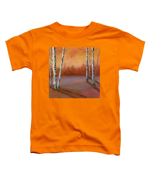 Birches In The Fall Toddler T-Shirt