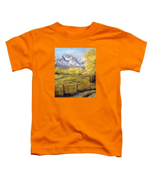 Bishop In The Fall Toddler T-Shirt