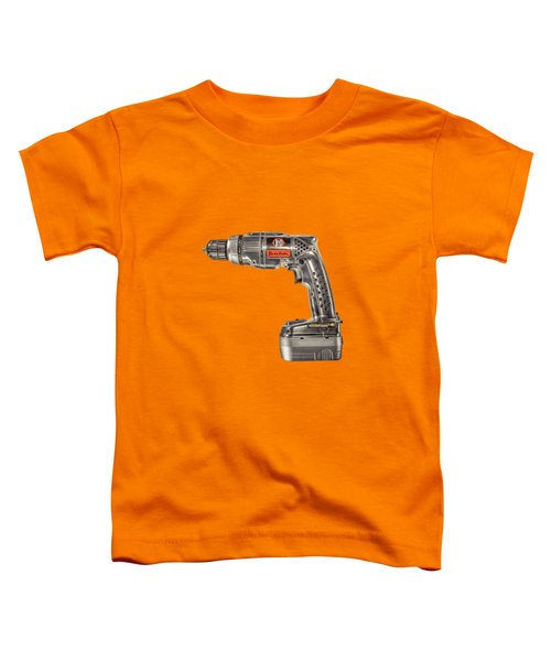 Black N Decker Retro Drill Motor Toddler T-Shirt