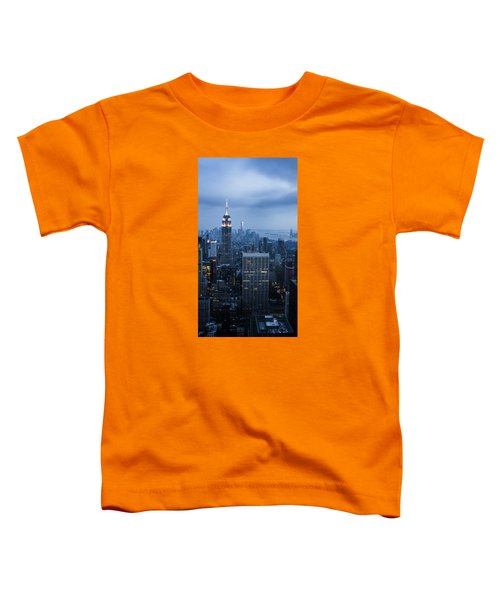 Blue New York Toddler T-Shirt