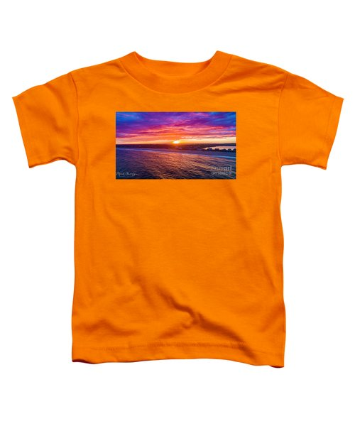 Blue Shutter East Beach Toddler T-Shirt
