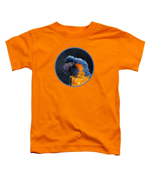Blue-throated Macaw Profile Toddler T-Shirt