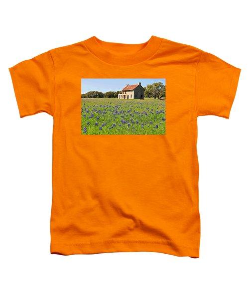 Bluebonnet Field Toddler T-Shirt
