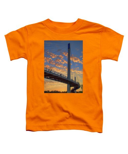 Bob Kerry Bridge At Sunrise Toddler T-Shirt