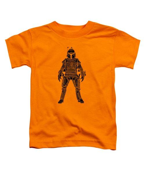 Boba Fett - Star Wars Art, Green Toddler T-Shirt