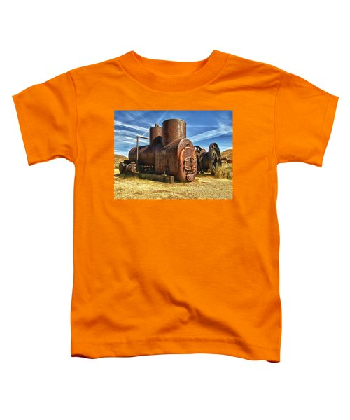 Old Boiler Bodie State Park Toddler T-Shirt