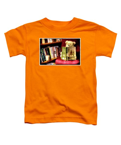 Bookworm Ted Toddler T-Shirt