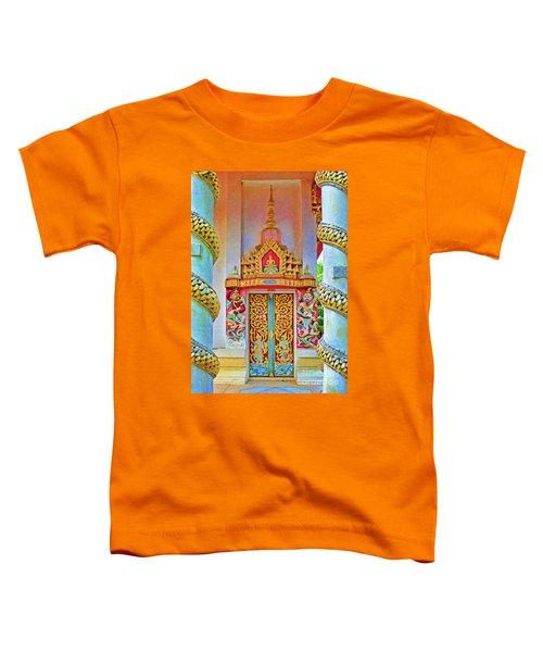 Bophut Temple In Thailand Toddler T-Shirt