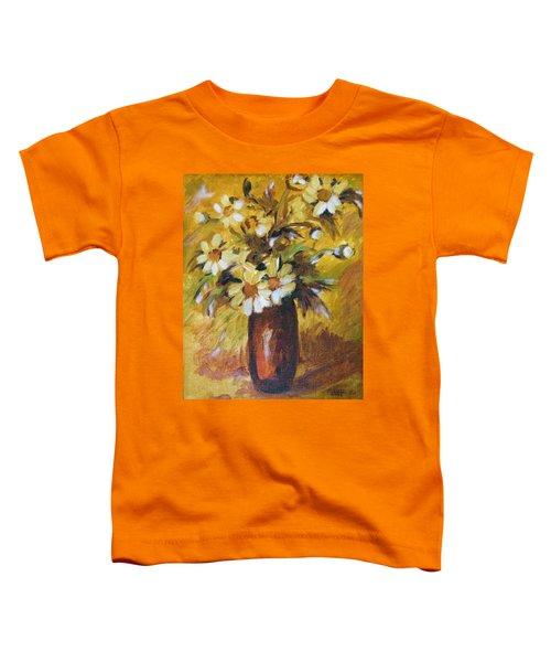 Bouquet Flowers Of Gold Toddler T-Shirt