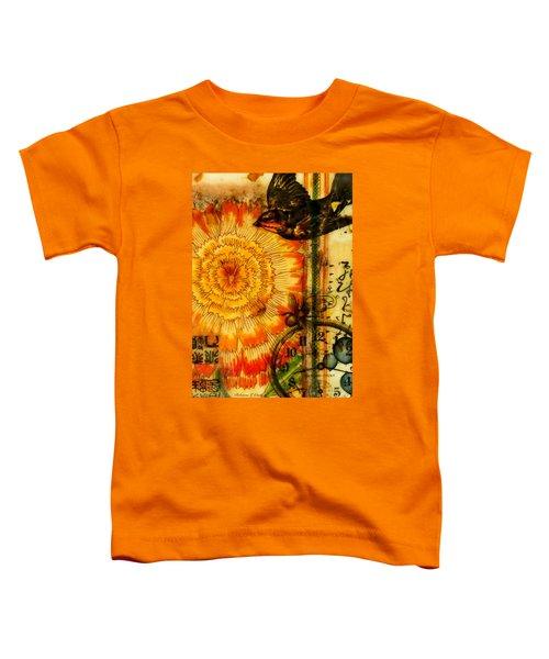 Bright Life Encaustic Toddler T-Shirt by Bellesouth Studio