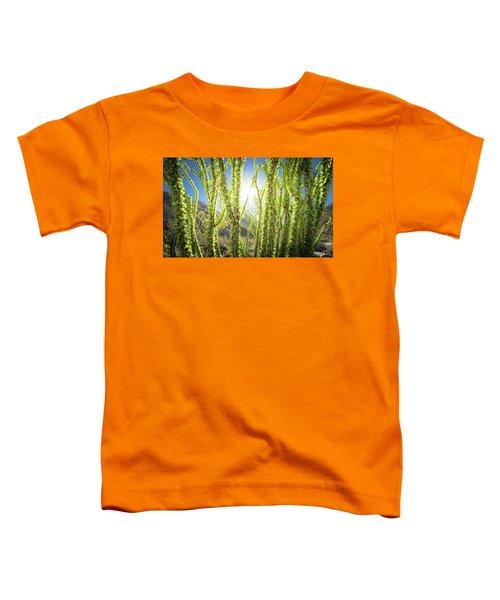 Bright Light In The Desert Toddler T-Shirt