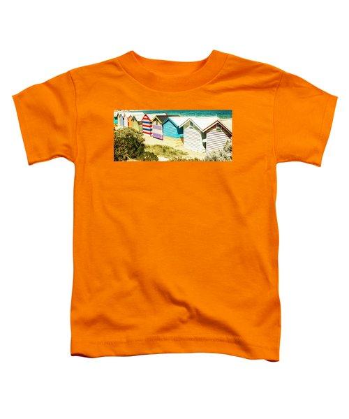 Brighton Beach, Melbourne Toddler T-Shirt