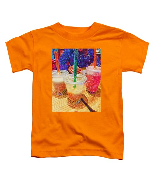 Bubble Tea For Three Toddler T-Shirt