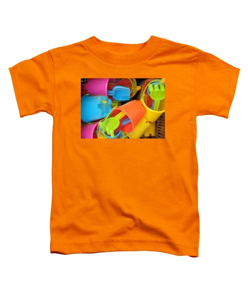 Buckets And Spades Toddler T-Shirt