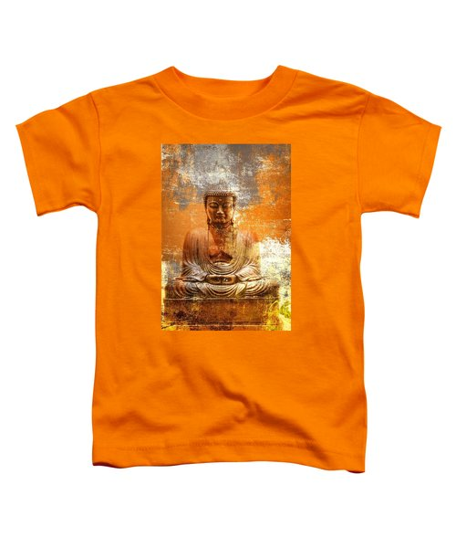 Budha Textures Toddler T-Shirt