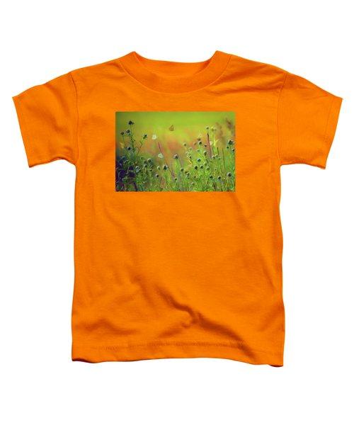 Butterflies - Wildflowers Toddler T-Shirt
