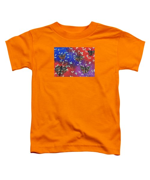 Butterfly Family Tree Toddler T-Shirt