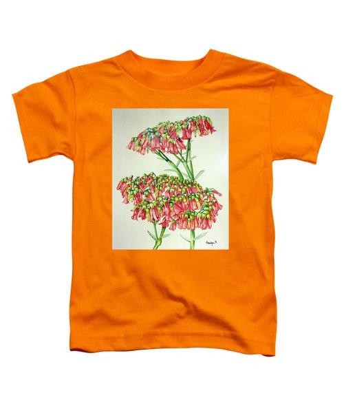 Cactus Flower 3 Toddler T-Shirt