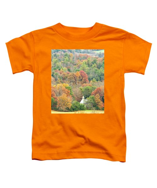 Cades Cove Methodist Church Toddler T-Shirt