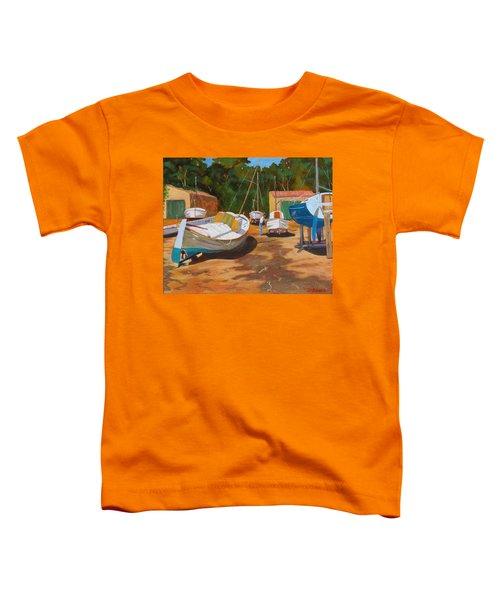 Cala Figuera Boatyard - I Toddler T-Shirt
