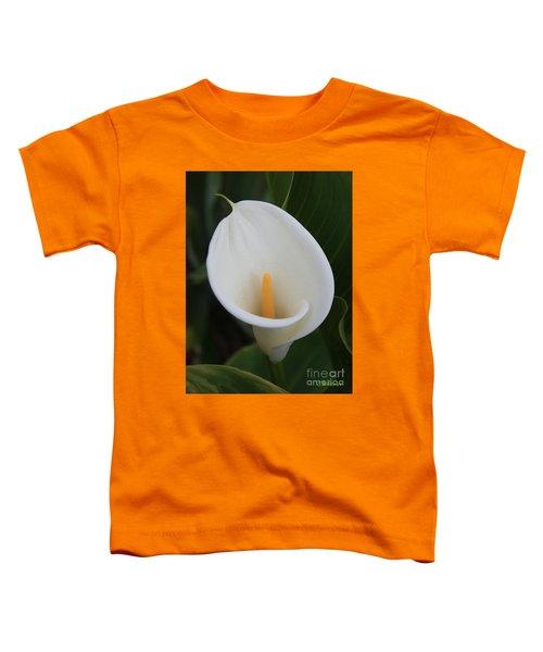 Perfect White Calla  Toddler T-Shirt