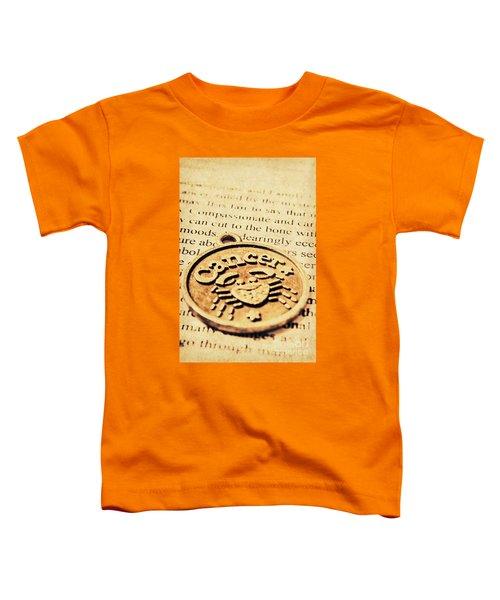 Cancer Star Sign Art Toddler T-Shirt