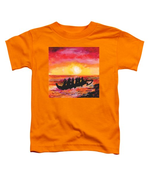 Canoe Ride Toddler T-Shirt