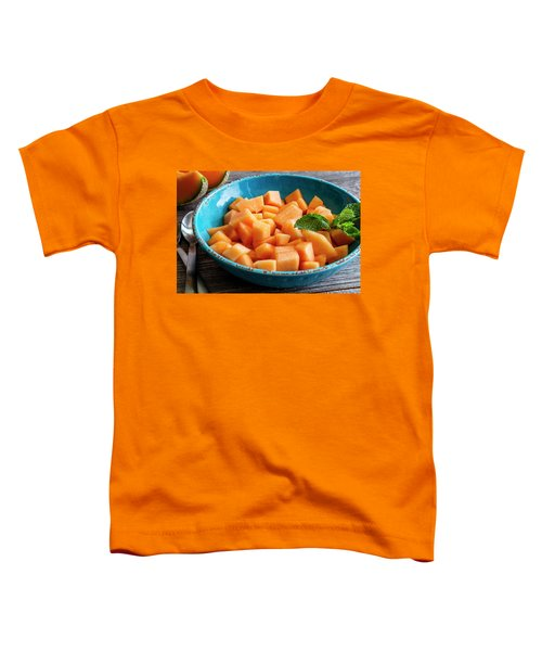 Cantaloupe For Breakfast Toddler T-Shirt