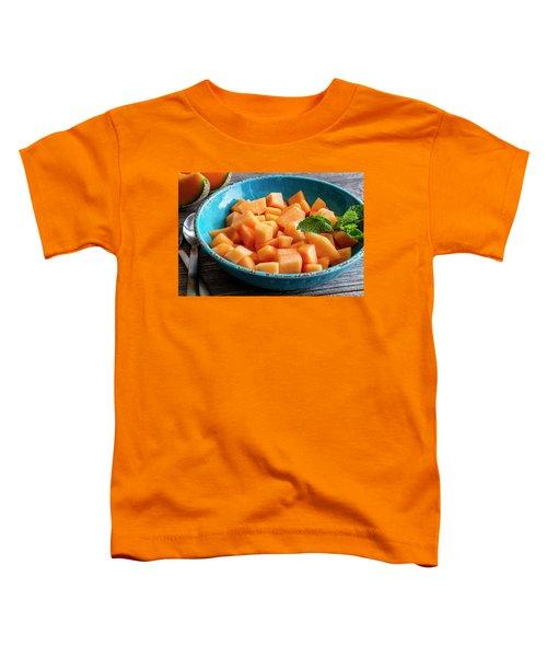 Cantaloupe For Breakfast Toddler T-Shirt